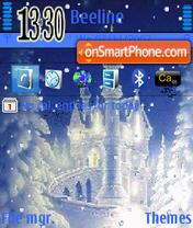 Snow theme screenshot