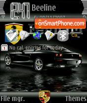 Car Ferrari es el tema de pantalla