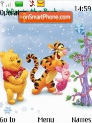 Pooh and Friends Xmas es el tema de pantalla