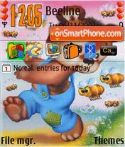 Medvejonok theme screenshot