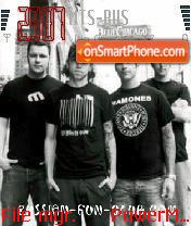 Rise Against 03 es el tema de pantalla