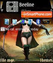 Spellforce theme screenshot