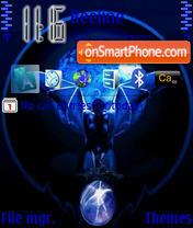 Blue Vampir es el tema de pantalla