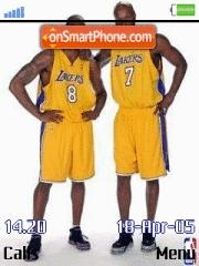 Kobe And Lamar es el tema de pantalla