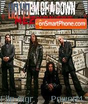 System of a Down 02 es el tema de pantalla