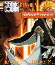 Kurosaki Ichigo 01 theme screenshot