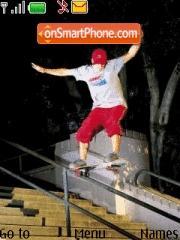 Skateboard theme screenshot