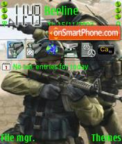 Counter Strike 08 theme screenshot
