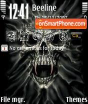 Skull 07 es el tema de pantalla