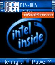 Intel Inside theme screenshot