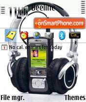 Nokia N91 01 theme screenshot