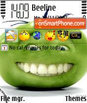 Green Tomato theme screenshot