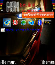 Iron-Man es el tema de pantalla
