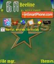 Dallas Stars theme screenshot