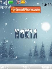 Nokia 7611 es el tema de pantalla