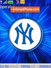 New York Yankees theme screenshot