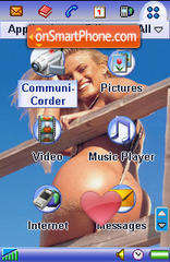 Blue Sex es el tema de pantalla