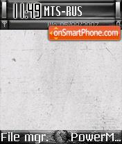 Black Theme 01 es el tema de pantalla