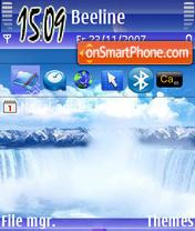 Water Falls theme screenshot