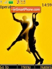 NBA Basketball theme screenshot