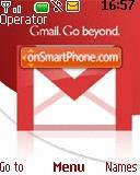 Gmail Google 01 es el tema de pantalla