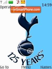 Tottenham Hotspurs theme screenshot