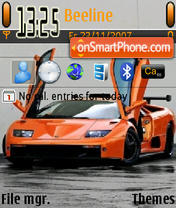 Lamborghini 07 es el tema de pantalla