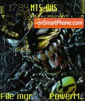 Werewolf 01 es el tema de pantalla