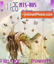 Queen Of Fairy theme screenshot