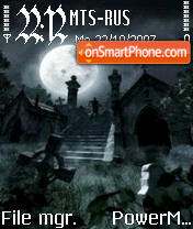 Cemetery of the Dark es el tema de pantalla