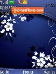 Abstract Flower theme screenshot