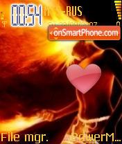 Fire 05 theme screenshot