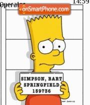 Bart Simpson 03 es el tema de pantalla