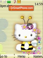 Hello Kitty tema screenshot