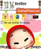 Smile theme screenshot