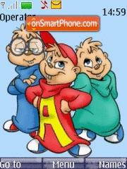 Alvin N Chipmunks tema screenshot