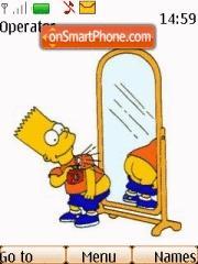 Bart Simpson es el tema de pantalla