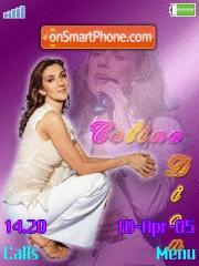 Celine Dion 01 es el tema de pantalla
