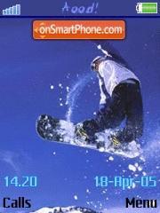 Snowboard 01 es el tema de pantalla