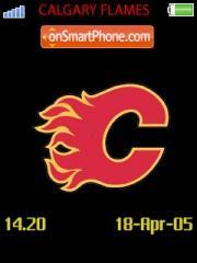 Calgary Flames es el tema de pantalla