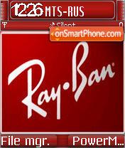 Ray Ban es el tema de pantalla
