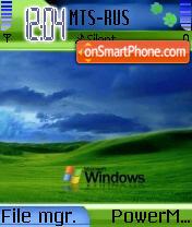 XP Mobile 2008 theme screenshot
