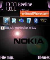 Nokia Theme theme screenshot
