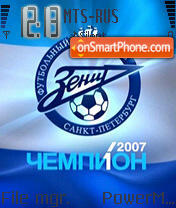 Zenit 2007 theme screenshot