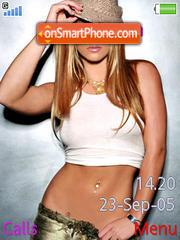 Britney Spears Ock es el tema de pantalla