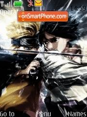 Naruto Vs Sasuke theme screenshot