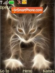 Fire Cat tema screenshot