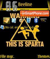 Sparta theme screenshot