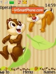 Chip N Dale 01 tema screenshot