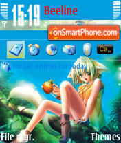 Anime v2 176x208 theme screenshot